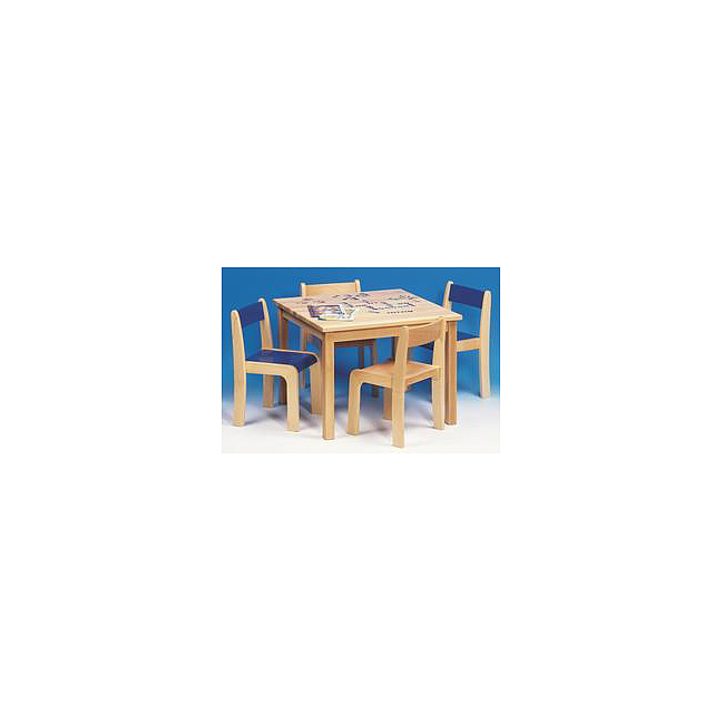 kinder m bel sitzgruppe bestehend aus 1 tisch und 4 st hle natur kinderm bel. Black Bedroom Furniture Sets. Home Design Ideas