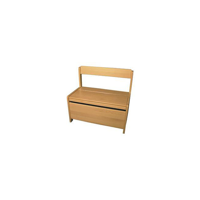 kinder m bel truhenbank mit deckelst tze 1 natur. Black Bedroom Furniture Sets. Home Design Ideas