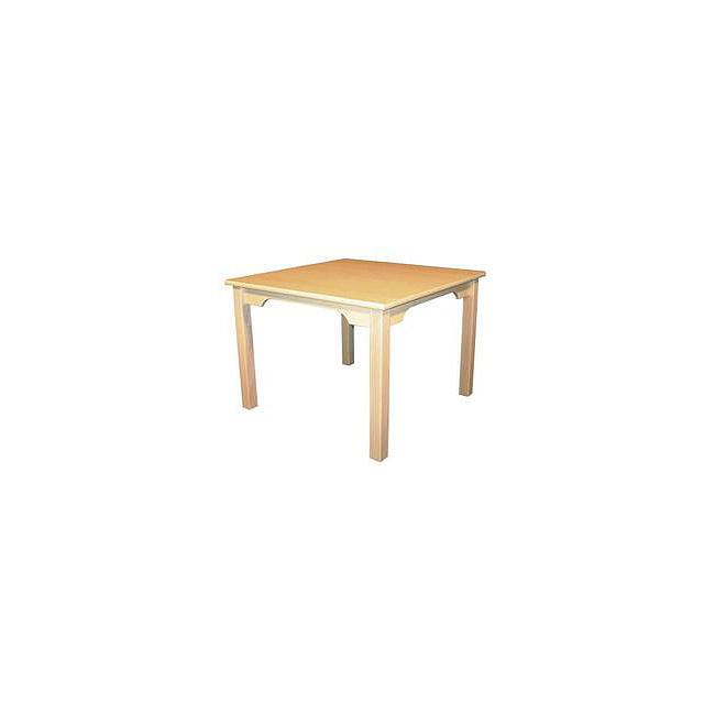 kinder m bel tisch quadratisch natur kinderm bel. Black Bedroom Furniture Sets. Home Design Ideas
