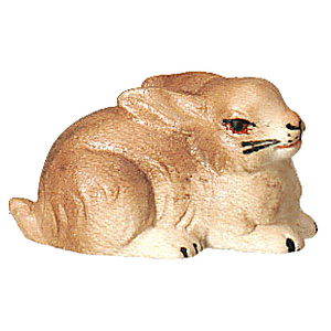 Weihnachtskrippe - Krippenfigur Bethlehem Hase color
